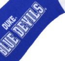 Duke University Blue Devils Crew Socks