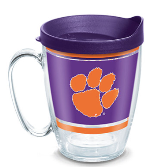 Clemson University Hot Cold Tervis Mug