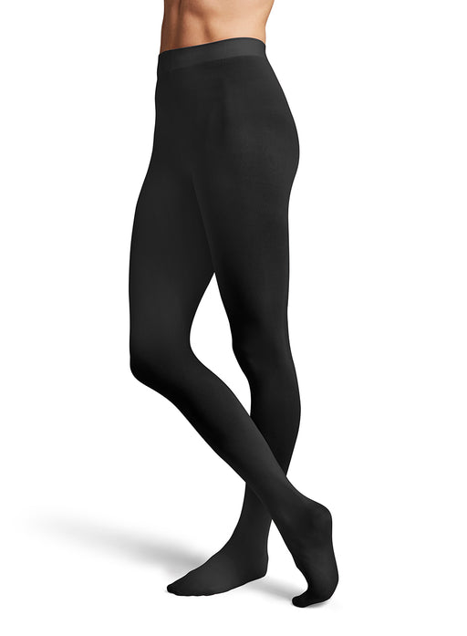 Bloch Contoursoft Ladies Black Footed Tight