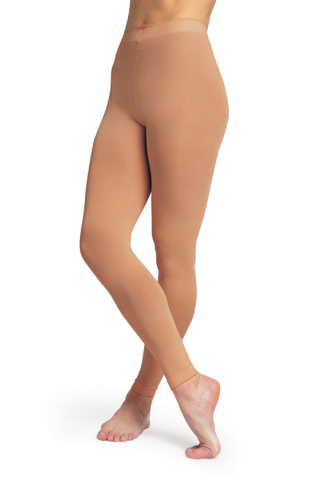 Bloch Contoursoft Ladies Footless Tights