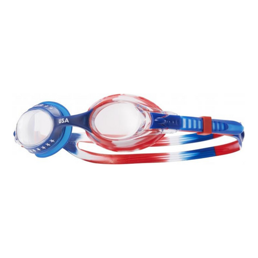TYR Kids Performance USA Swimple Goggle - DiscoSports