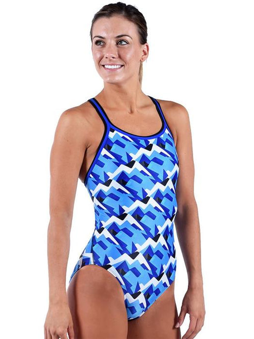 Dolfin XtraSleekEco Blue Denali DBX Back One Piece