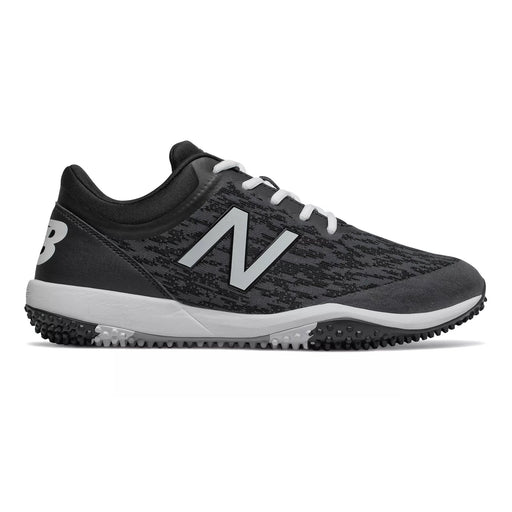 New Balance Mens Turf Shoes (Black and Grey)