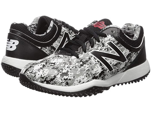 New Balance Kids 4040v5 Turf Baseball (Little Kid/Big Kid) (Camo) - DiscoSports