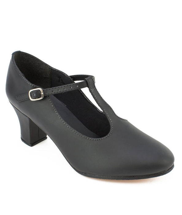 "So Danca 2"" Heeled T-Strap Character Shoe"