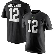 Green Bay Packers Aaron Rodgers #12 T-Shirt