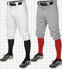 Easton Belted Adult Pro Knicker Baseball Pants