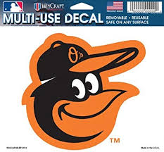Baltimore Orioles Team Decal