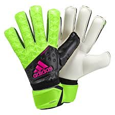 Adidas Ace Replique Goalie Gloves- Solar Green