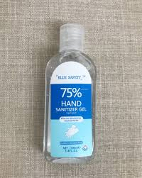 Blue Safety Hand Sanitizer 3.4oz. gel - DiscoSports