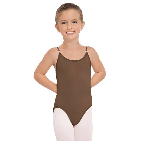Euroskins Child Mocha Euroskins Smooth Camisole Liner
