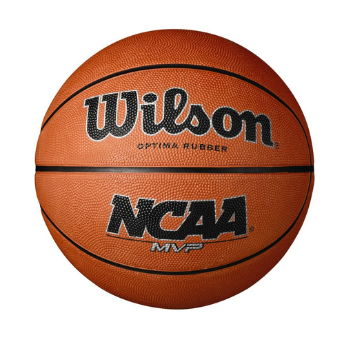 Wilson NCAA MVP Optima Rubber Basketball - DiscoSports
