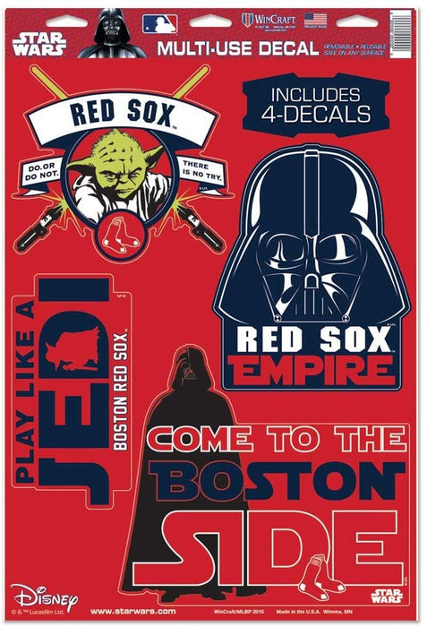 Boston Red Sox Star Wars Multi-Use Decal