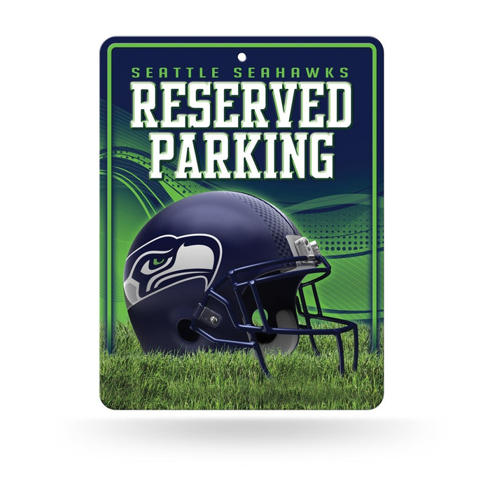 "Seattle Seahawks ""Reserved Parking"" Sign"