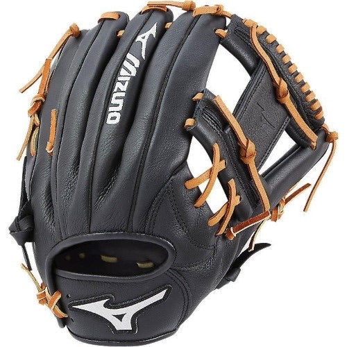 Mizuno Prospect Youth Baseball Glove- Black/ Tan- RHT