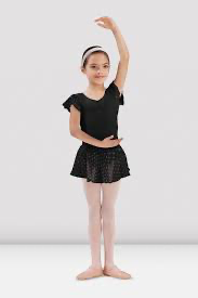 Sparkle Skirt-Black