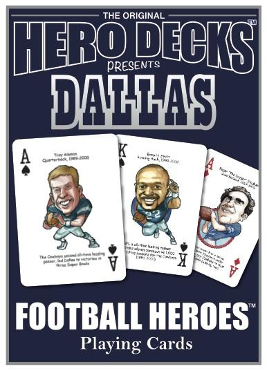 Hero Decks NFL Team Playing Cards