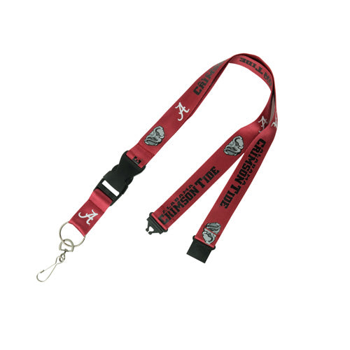 College Lanyards With Detachable Key Chain - DiscoSports