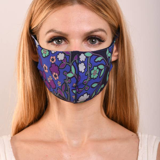 MIMOZZAS Adult Double Layer Face Mask