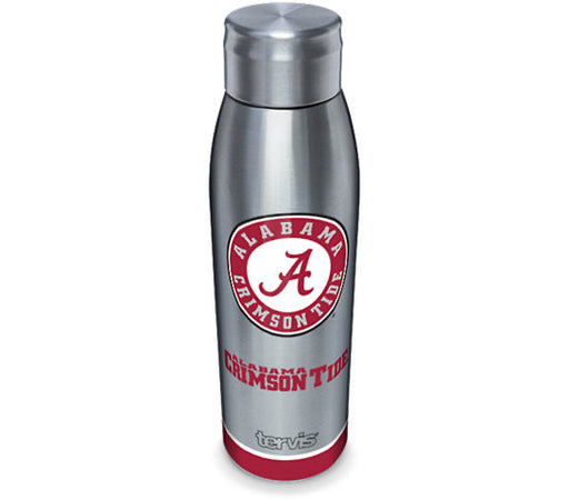 University Of Alabama Tradition Tervis 17 oz Stainless Steel Slim Bottle With Lid