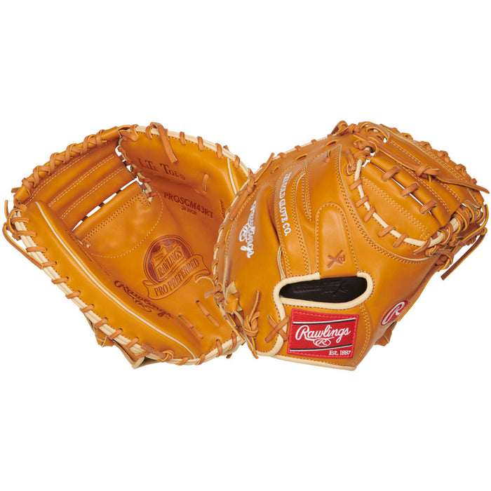 Rawlings Pro Preferred Catcher's Mitt- 34- RHT