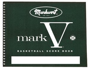 Mark V Basketball Scorebook 30 Games - DiscoSports