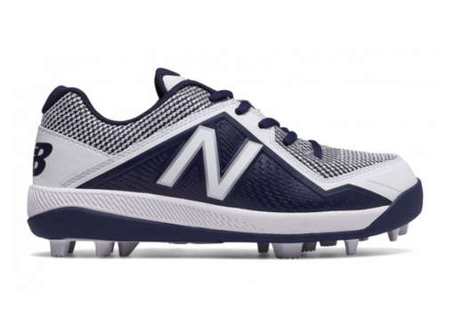 New Balance - Navy/White Junior Low Rubber Baseball Cleats