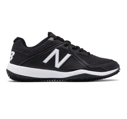 Kid's 4040v4 Turf Baseball (Black and White)