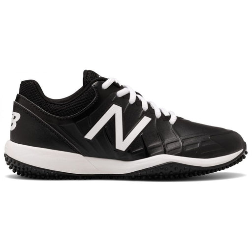 New Balance Youth 4040V5 Turf Trainers (Black and White)