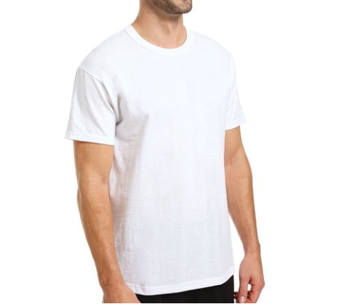 Russell T-Shirt in White
