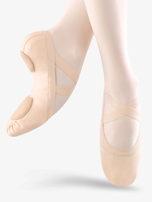 Bloch Synchrony Canvas Ballet Shoe in Pink
