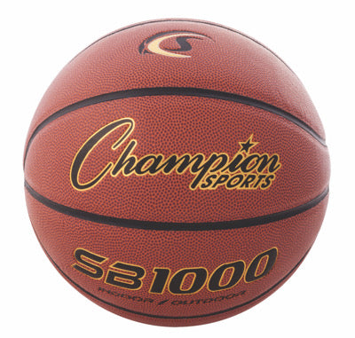 Champion Official Size Composite Basketball - DiscoSports