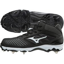 Mizuno Womens 9-Spike Advanced Sweep 4 Mid Metal Cleats