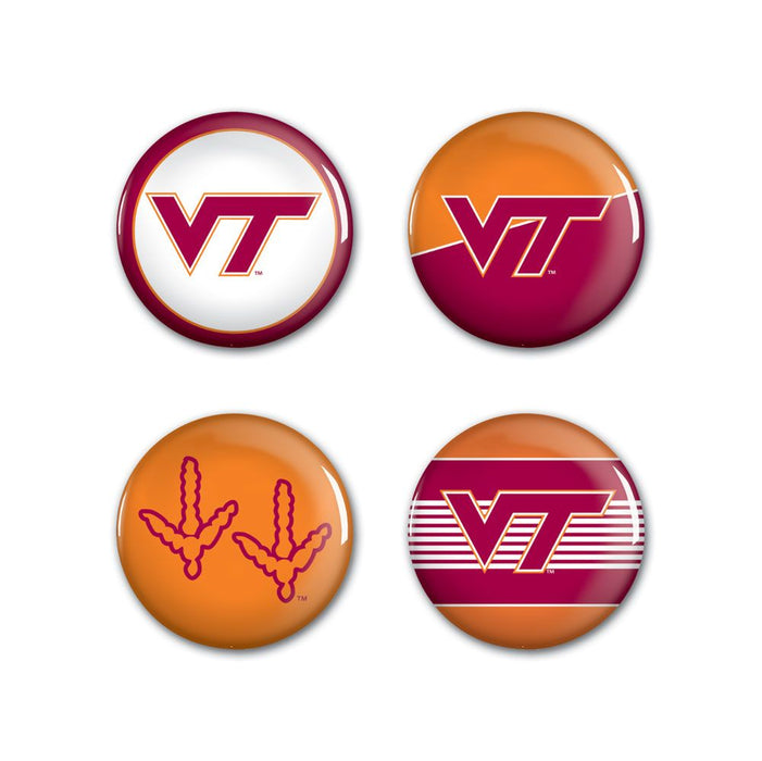 College Button 4-Pack