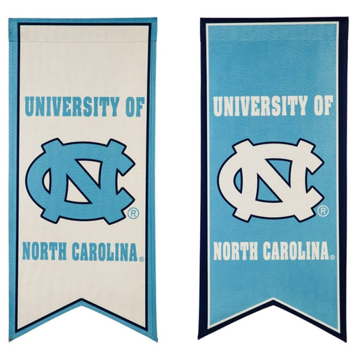 North Carolina Tar Heels Banner Flag - DiscoSports