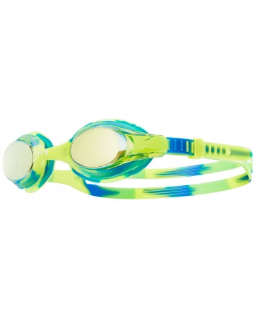 TYR Kid's Swimple Mirrored Tie-Die Goggle