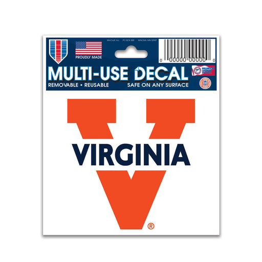 Virginia Cavaliers Multi-Use Decal - DiscoSports
