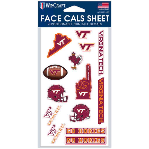College Face Cals Sheet - DiscoSports