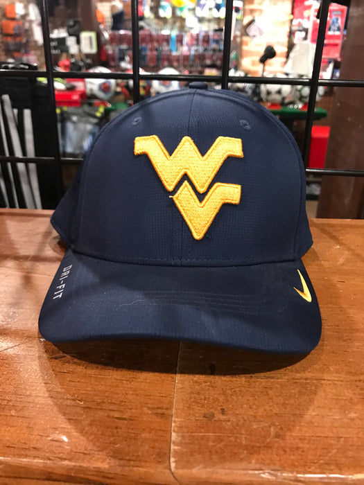 West Virginia Mountaineers Sideline Swoosh Hat