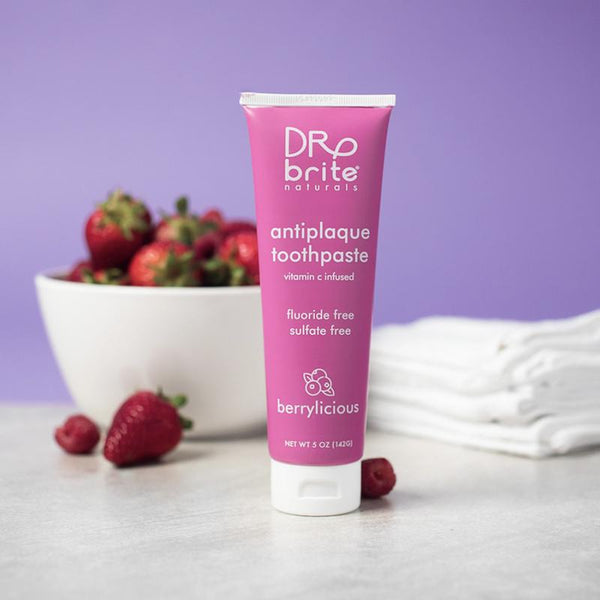 dr. brite Berrylicious Toothpaste