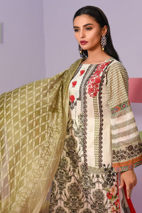 Lakhany Luxury Embroidered Lawn spring collection 3pc Suit DC-204