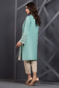 Ready to wear Embroidered Lawn Stitched Kurti By LSM-1458-ST