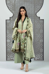 Sapphire 3 Piece Unstitched Digital Printed & Embroidered Textured Lawn Sylvan - V4