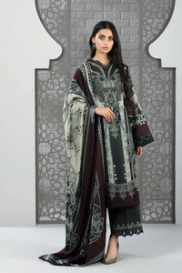 Sapphire 3 Piece Unstitched Printed & Embroidered Fine Lawn Bohemia - V4