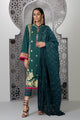 Sapphire 3 Piece Unstitched Embroidered Ladies Suit Wondergrass - V4