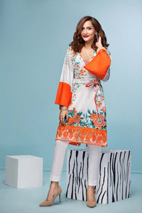 Gul Ahmed Mid Summer Collection Grey 1PC SCE-81