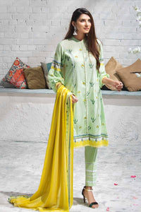 Gul Ahmed Light Green CBN-93 B