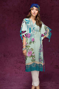 Gul Ahmed Digital printed viscose Shirt SV-18