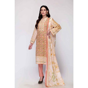 Gul Ahmed 3 PC Printed Lawn Suit CL-720 A