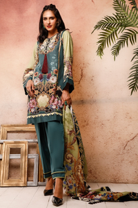 FIRDOUS CONCEPT 3 Piece Unstitched Ladies Lawn Suit Urbane Vintage 20-UV-19568 B